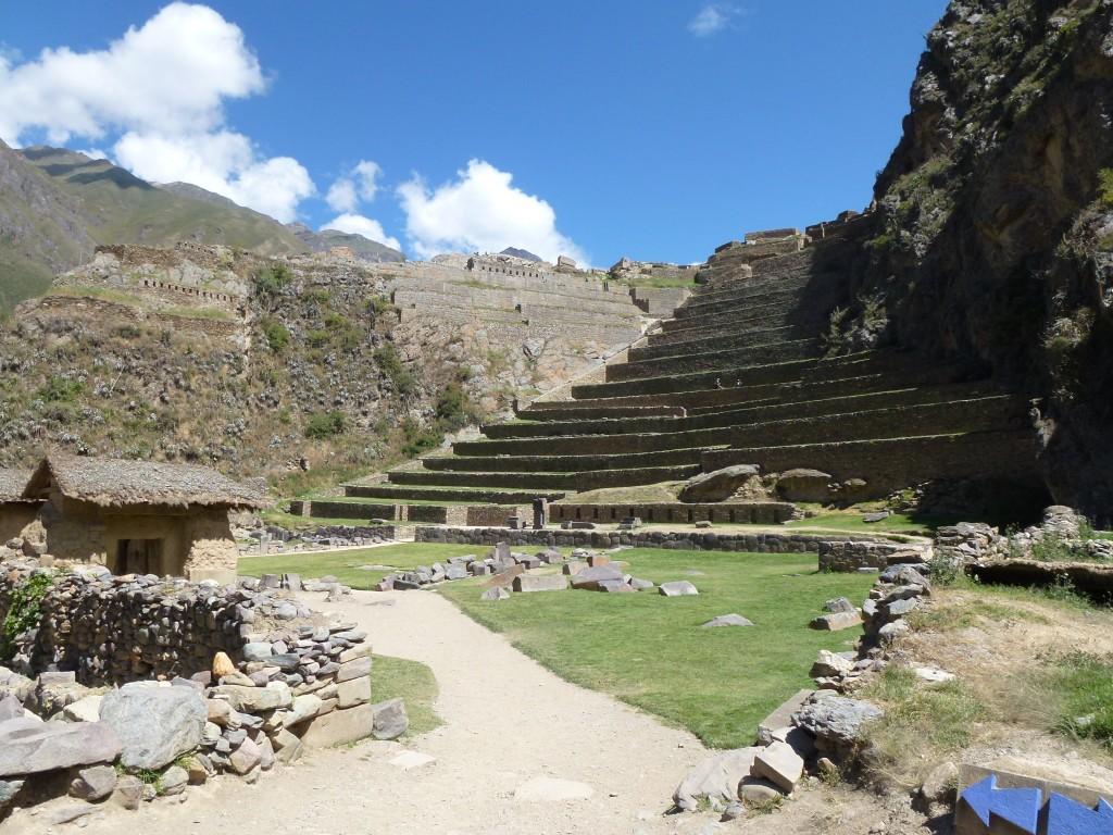 Ollantaytambo in Peru, sacred site travel peru